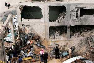 Immeuble détruit