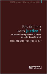Couverture du livre Pas de paix sans justice