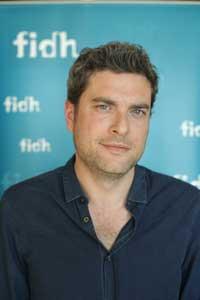 Florent Geel, responsable du bureau Afrique de la FIDH