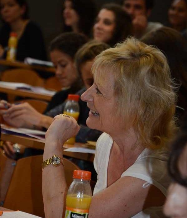 Christine Manigand (Directrice de l'ICEE) Paris 3) © Genevieve Sababadichetty