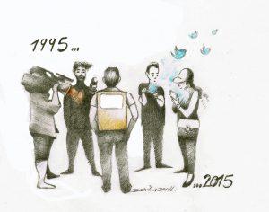 Le discours humanitaire,du 20h à Twitter